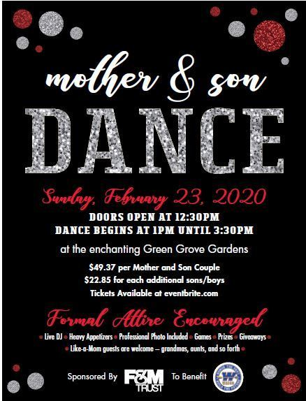 2020 Mother Son Dance