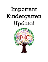 Kindergarten Registration Update 4/28/20