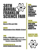 38th Annual Franklin Science Fair