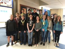 WAMS Science Olympiad Team Qualifies for States