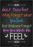 Teacher Appreciation Week May 4-9